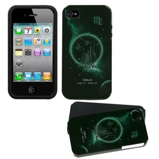 INSTEN Virgo Horoscope Collection Fusion Phone Case Cover for Apple iPhone 4/ 4S