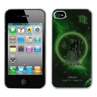 INSTEN Virgo Horoscope Collection Back Phone Case Cover for Apple iPhone 4/ 4S
