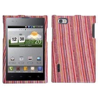 INSTEN Vertical Stripes Phone Case Cover for LG VS950 Optimus Vu/ VS950 Intuition