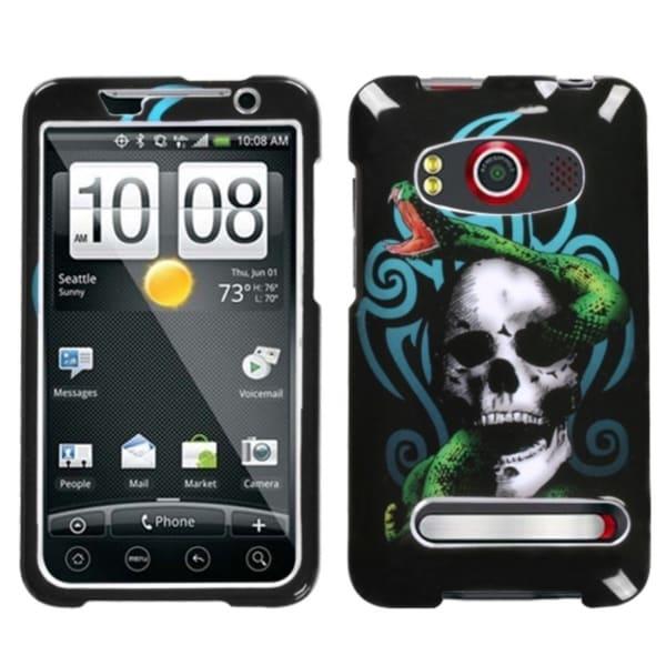 INSTEN Tribal Snake Phone Case Cover for HTC EVO 4G