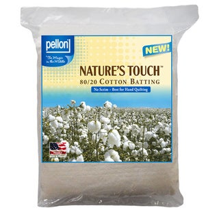 Pellon Nature's Touch Non-scrim Natural Blend 80/ 20 Batting
