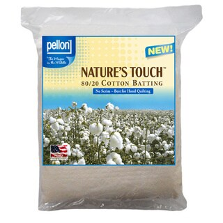 Pellon Nature's Touch Non-scrim Natural Blend 80/ 20 Batting (More options available)