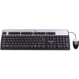 HP USB BFR with PVC Free US Keyboard/Mouse Kit
