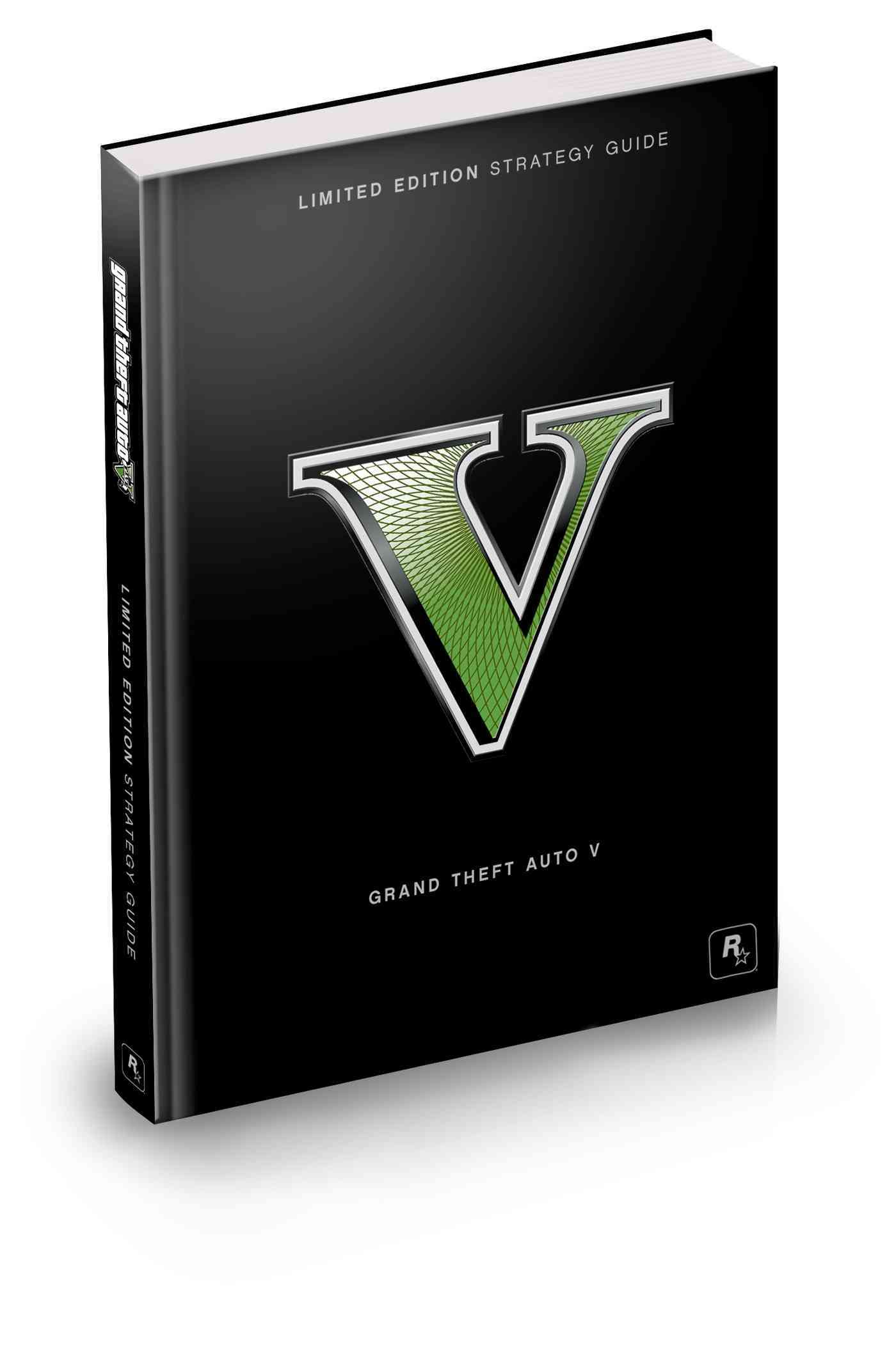 Grand Theft Auto V Limited Edition Strategy Guide (Hardcover)