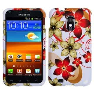 INSTEN Hibiscus Flower Romance Phone Case Cover for Samsung Epic 4G Touch