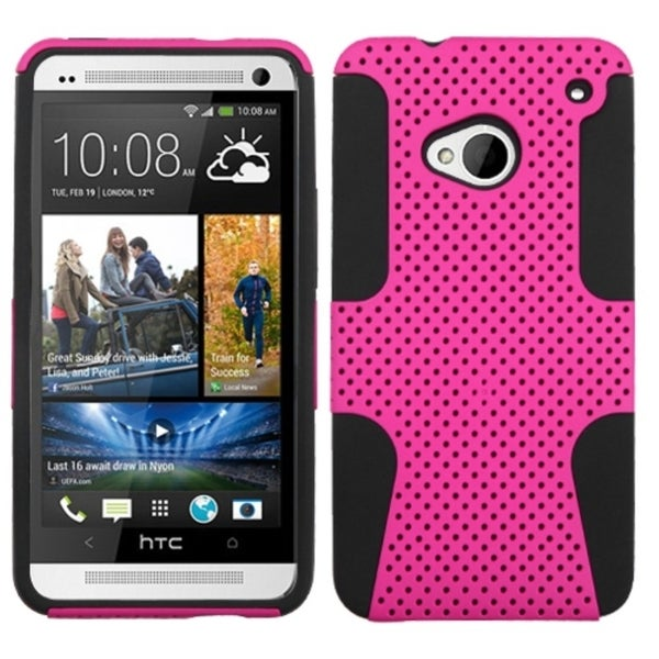 BasAcc Hot Pink/ Black Astronoot Case for HTC One M7