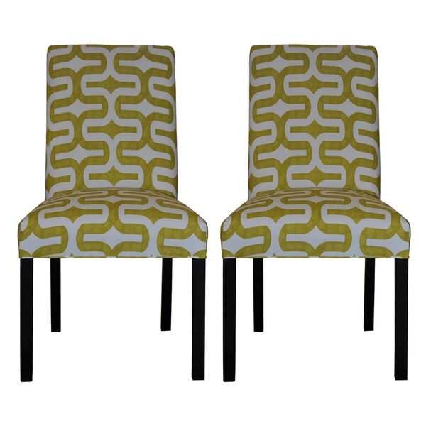 Embrace Artist Green Dining Chair (Set of 2)
