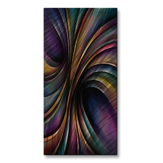 Michael Lang 'Vivid Motion' Metal Wall Art