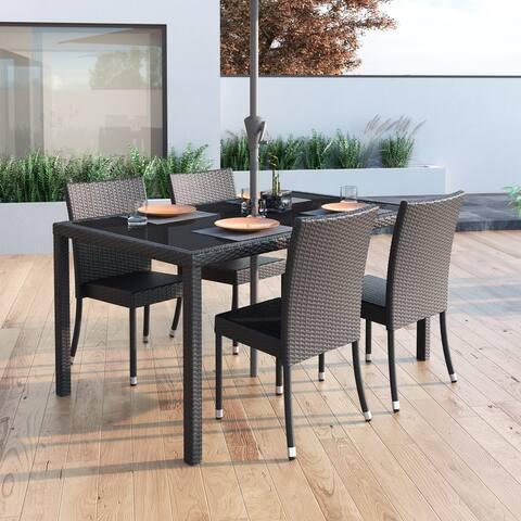 CorLiving Park Terrace Rectangular Patio Dining Table