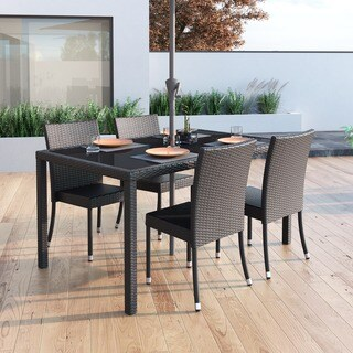 Sonax T-206-TPP Park Terrace Black Weave Outdoor Table