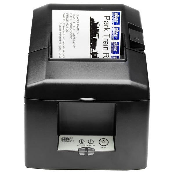 Star Micronics TSP654II Direct Thermal Printer - Monochrome - Wall Mo