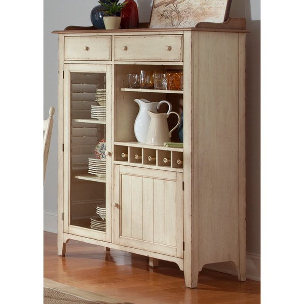 Cottage cove liberty display cabinet free shipping today overstock