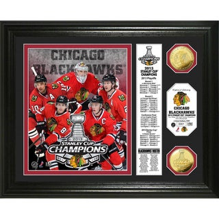 2013 Stanley Cup Champions 'Banner' Gold Coin Photo Mint