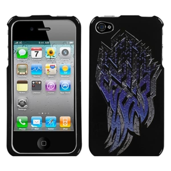 INSTEN Steel SHard Plastic Phone Case Cover for Apple iPhone 4/ 4S