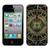 INSTEN Star Compass Dream Back Phone Case Cover for Apple iPhone 4/ 4S