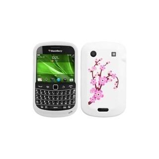 INSTEN Spring Flowers/ White Phone Case Cover for Blackberry 9930 Bold/ 9900 Bold