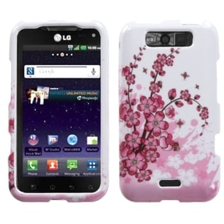 INSTEN Spring Flowers Phone Case Cover for LG MS840 Connect 4G/ LS840 Viper