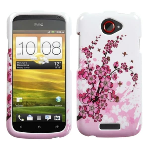 INSTEN Spring Flowers Phone Case Cover for HTC One S