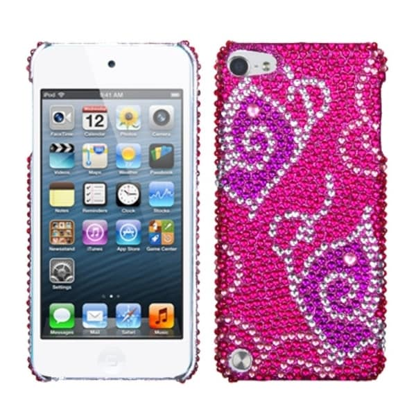 ... Snap-on Rhinestone Bling Case Cover For Apple iPod Touch 5th/ 6th Gen