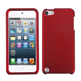INSTEN Titanium Red iPod Case Cover for Apple iPod Touch 4
