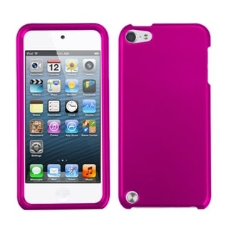INSTEN Titanium Hot Pink iPod Case for Apple iPod Touch 5