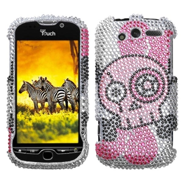 INSTEN Tear Diamante Phone Case Cover for HTC myTouch 4G