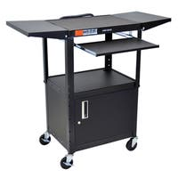 Offex Movable Multipurpose Adjustable Height with Pullout Keyboard Tray