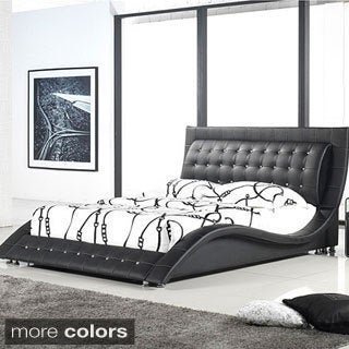 dublin modern king size platform bed free shipping today overstockcom 15499084