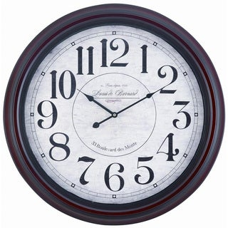"McNair Oversized 24"" Metal Wall Clock"
