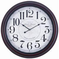 "McNair Oversized 24"" Metal Wall Clock"