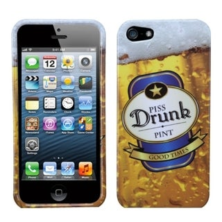 INSTEN Piss Drunk Phone Protector Phone Case for Apple iPhone 5/ 5S/ SE