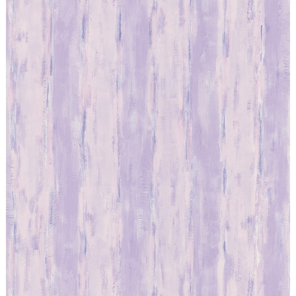 Brewster Purple Abstract Stripe Wallpaper