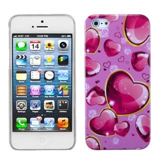 INSTEN Dream Hearts Phone Back Protector Phone Case for Apple iPhone 5/ 5S/ SE