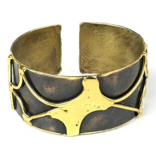 Handcrafted Brass Energy Cuff (South Africa)