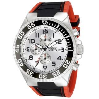 Invicta Men's Stainless Steel 'Pro Diver' Quartz Watch
