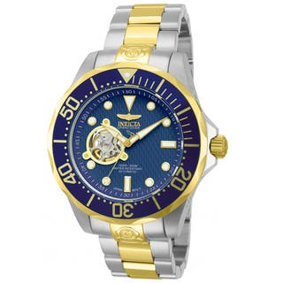 Invicta Men's 13706 Stainless Steel 'Pro Diver' Link Watch|https://ak1.ostkcdn.com/images/products/8158030/P15499317.jpg?impolicy=medium
