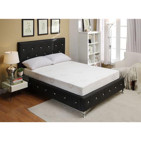 Bonded Leather Platform Bed