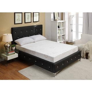 Bonded Leather Platform Bed