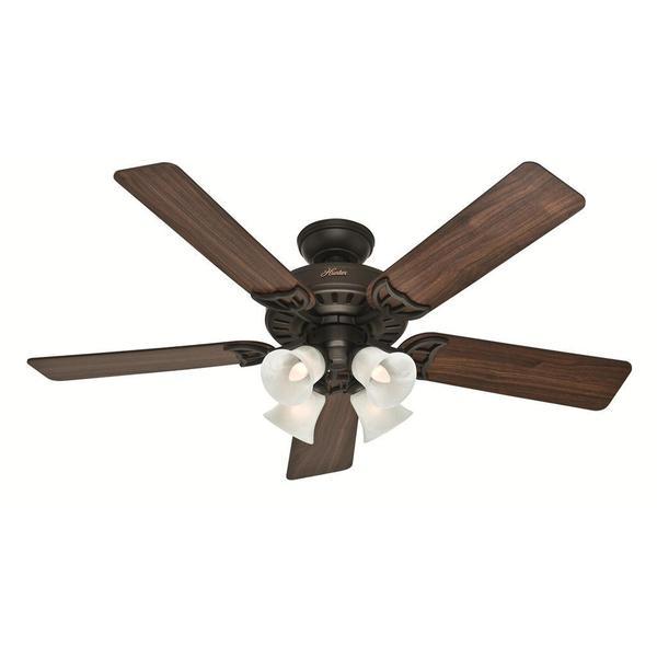 Shop Hunter Fan Studio Series 52 Inch Ceiling Fan Free Shipping Today Overstock 8158115