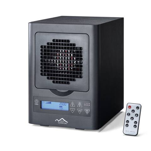 New Comfort Black 6-stage UV Washable HEPA Ozone Air Purifier