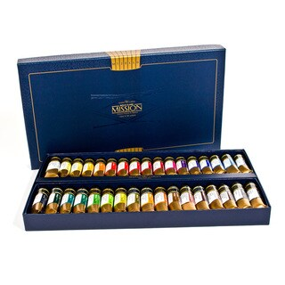 Mijello Mission Gold Class 15ml Watercolors 34-color Set