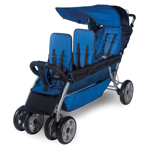 Shop Foundations Lx3 3 Passenger Stroller Free Shipping