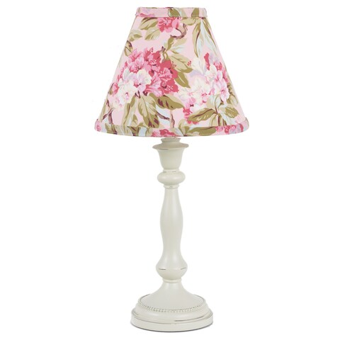Cotton Tale Tea Party 19-inch Lamp and Shade