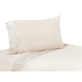 Sweet JoJo Designs 200 Thread Count Victoria Sheet Set