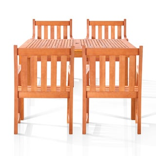 Edgewood 5-piece Oil Rubbed Outdoor Dining Set