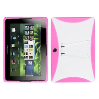 INSTEN Gummy Phone Case Cover with Stand for RIM Blackberry Playbook Tablet