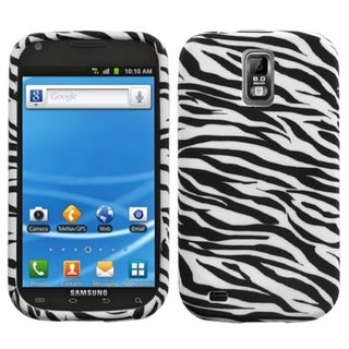 INSTEN Zebra Candy Skin Phone Case Cover for Samsung Galaxy S2/ S II T989