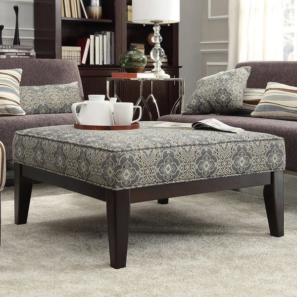 INSPIRE Q Ashland 36 inch Upholstered Cocktail Ottoman