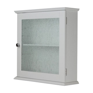 Highland Glass Door Medicine Cabinet by Elegant Home Fashions