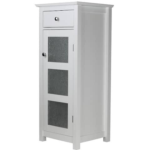 Highland Bathroom Storage Floor Cabinet with Drawer